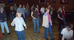 Teaching a Line Dance @ Ponderosa Lounge